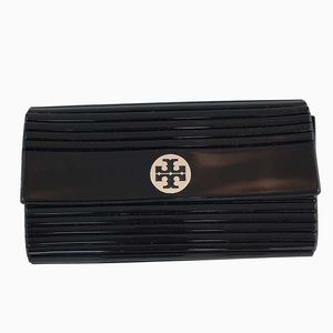 Tory Burch Kerry Resin Ribbed Clutch